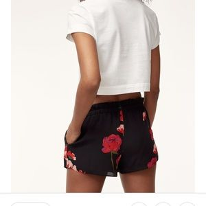 Wilfred Montrouge floral shorts !